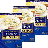 【アウトレット】ハウス食品 ビストローリ クリームシチュー 1セット(2袋×3箱)