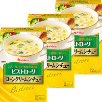 ハウス食品 ビストローリ コーンクリームシチュー 1セット(3個)