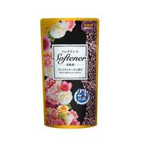フレグランスソフター プレミアムローズの香り 詰め替え 500ml 1個 柔軟剤 日本合成洗剤