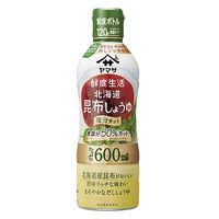 ヤマサ醤油 鮮度生活 北海道昆布しょうゆ 塩分9% 600ml鮮度ボトル 1本