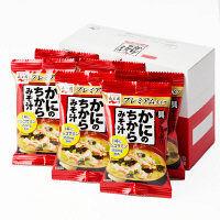 【アウトレット】永谷園 かにのちからみそ汁 フリーズドライ プレミアムタイプ 1箱(6食入)