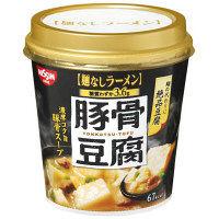 日清食品 日清麺なしラーメン 豚骨豆腐スープ 3個
