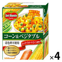 デルモンテ コーン&ベジタブル 1セット(4個)