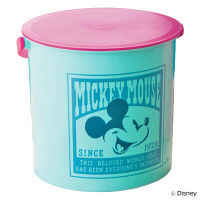【アウトレット】ベルメゾン マルチ収納バケツ ミッキーマウス ブルー 1個