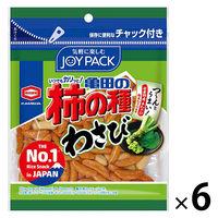 亀田製菓 亀田の柿の種わさび 6袋