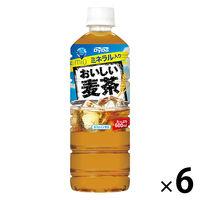 ダイドー おいしい麦茶 600ml 1セット(6本)
