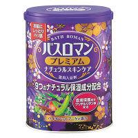 バスロマン プレミアム ナチュラルスキンケア バイオレットブーケの香り 680g 入浴剤 アース製薬