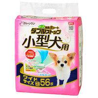 クリーンワン 消臭炭シート ダブルストップ 小型犬用 ワイド 1袋(56枚) シーズイシハラ
