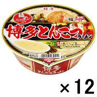 日清 麺ニッポン 博多とんこつ 12食