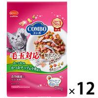 ケース販売 COMBO(コンボ) キャットフード 毛玉対応 かつお味 140g 1ケース(12個) 日本ペットフード