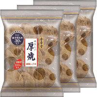 金吾堂 やさしい厚焼減塩しょうゆ 1セット(3袋入)
