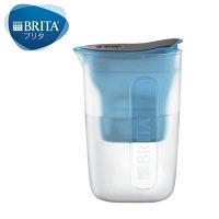 BRITA(ブリタ) ファン ブルー 1.0L 1セット(本体+カートリッジ1個) 【日本仕様・日本正規品】