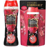 【お得なセット】レノアハピネス アロマジュエル ダイアモンドフローラルの香り 本体(520ml)&詰め替え(455ml) 1セット P&G