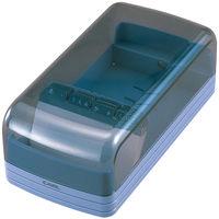 名刺整理器(600名用) ブルー NO.860E