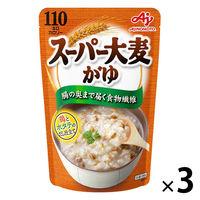 「味の素KKおかゆ」スーパー大麦がゆ 鶏とホタテのだし仕立て 4901001372980 3個