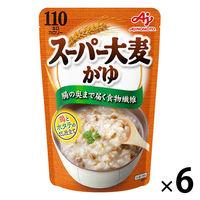 「味の素KKおかゆ」スーパー大麦がゆ 鶏とホタテのだし仕立て 4901001372980 6個