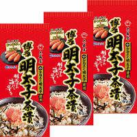 大森屋 かねふく明太子茶漬 1セット(3個)