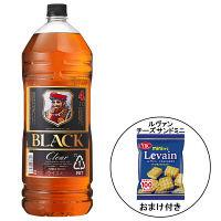 ブラックニッカクリア ペットボトル4L 1本 + ルヴァンチーズサンドミニ 1個