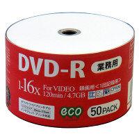 DVD-R録画用16倍速50枚シュリンク