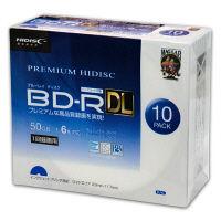 磁気研究所 BD-R/DL 録画/DATA共用 6倍速 スリムケース10枚 HDVBR50RP10SC 個