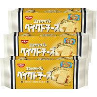日清シスコ ココナッツサブレ <ベイクドチーズ> 1セット(3個入)