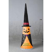 ハロウィン LEDパンプキンコーンライト 光るパンプキンツリー 高さ18cm 友愛玩具 (取寄品)