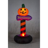 ハロウィン エアーディスプレイ フレイムパンプキンアロー 高さ180cm 友愛玩具 (取寄品)