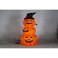 ハロウィン エアーディスプレイ 3連オレンジパンプキン(L) 高さ240cm 友愛玩具 (取寄品)