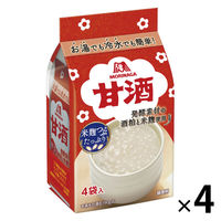 森永 甘酒 1セット(16袋:4袋入×4パック)