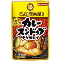 ダイショー CoCo壱番屋監修カレースンドゥブチゲ用スープ 鍋つゆ