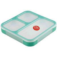薄型弁当箱 フードマン 1段 800ml ミントグリーン 1個 シービージャパン