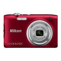ニコン デジタルカメラ「COOLPIX」A100 レッド COOLPIX A100 RD 1台