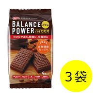 バランスパワー(BALANCE POWER)プラス ハイカカオ 1セット 3袋(12枚入) ハマダコンフェクト 栄養補助食品