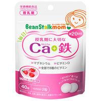 ビーンスタークマム 毎日カルシウム+鉄 20日分(40粒入) 雪印ビーンスターク サプリメント