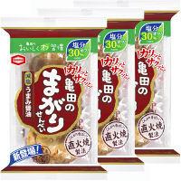 減塩亀田のまがりせんべい 12枚 3袋