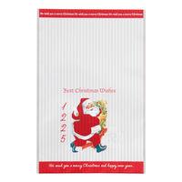 【クリスマス】OPP袋 アンティークサンタクロース-4 赤 W120×H180mm XAQ-OP4 1パック(50枚) HEADS
