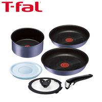 T-fal(ティファール) インジニオ・ネオ IHセレナーデ・エクセレンス 6点セット(鍋 フライパン 取ってのとれるタイプ) IH対応 1セット