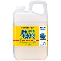 ヤシノミ洗剤 食器用洗剤 スーパーソフト 無香料・無着色 業務用詰め替え 2.7L サラヤ