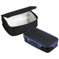 ロックフォー ランチボックス 1段 保冷バッグ付き 1個 OSK