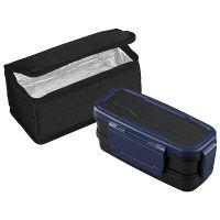 ロックフォー ランチボックス2段保冷バッグ付き OSK