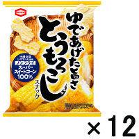 亀田製菓 とうもろこしスナック 12袋