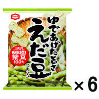 亀田製菓 えだ豆スナック 6袋