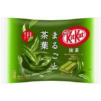 キットカット ミニ 抹茶 まるごと茶葉 13枚 1袋 ネスレ日本