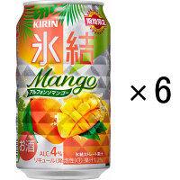 氷結 マンゴースパークリング 350ml 6缶