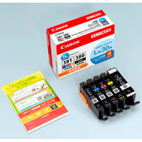 キヤノン(キャノン) 純正インク BCI-381+380/5MP 1パック(5色入) (2344C001) BCI-380/BCI-381シリーズ