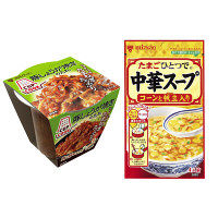 CUPCOOK豚しょうが焼き+中華スープ