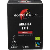 【スティックコーヒー】マウントハーゲン オーガニック フェアトレード インスタントコーヒー 1箱(25本入)