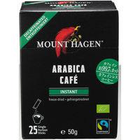 【スティックコーヒー】マウントハーゲン オーガニック フェアトレード カフェインレス インスタントコーヒー 1箱(25本入)