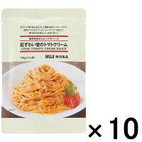 無印良品 素材を生かしたパスタソース 紅ずわい蟹のトマトクリーム 10袋 38969426 良品計画 <化学調味料不使用>