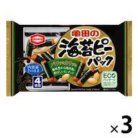亀田製菓 海苔ピーパック 89g 3袋